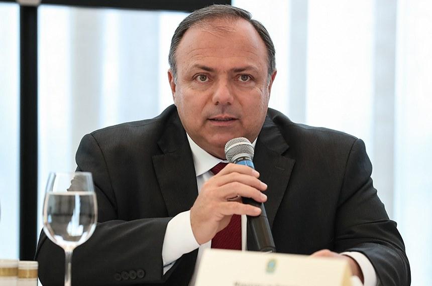 (Brasília - DF, 09/06/2020) 34ª Palavras do Ministro Interino da Saúde, Eduardo Pazuello. Foto: Marcos Corrêa/PR