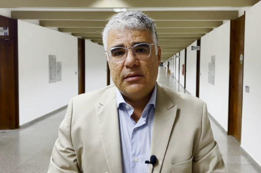 Pronunciamento Eduardo Girao  Foto: Reprodução TV Senado