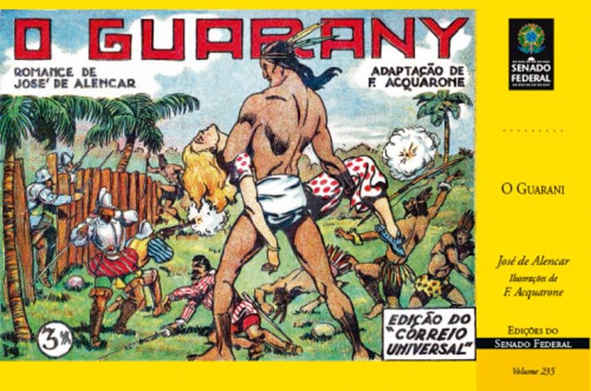 Os clássicos dos quadrinhos brasileiros O Guarani, de José de Alencar; As aventuras de Nhô-Quim e Zé Caipora; e Memórias d'O Tico-Tico estão disponíveis de forma gratuita na plataforma Social Comics