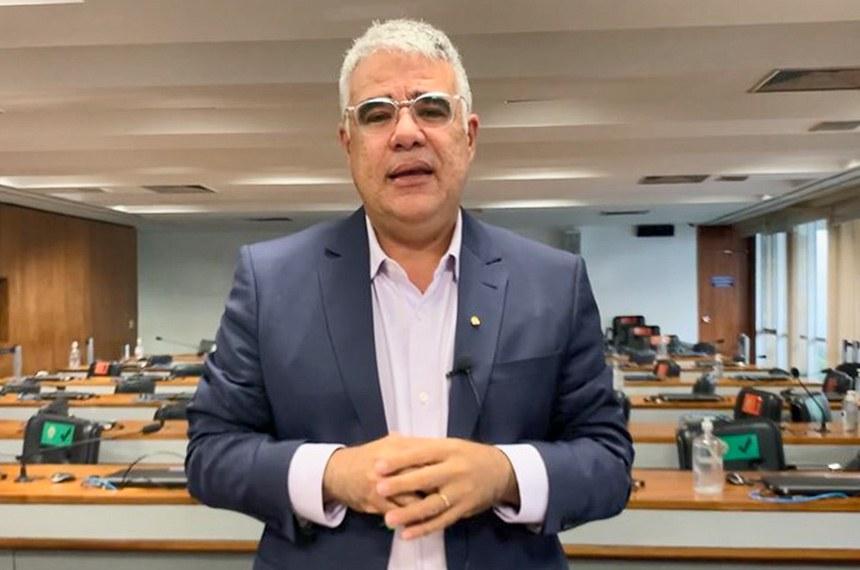 Pronunciamento sen Eduardo Girao Foto - Reprodução TV Senado