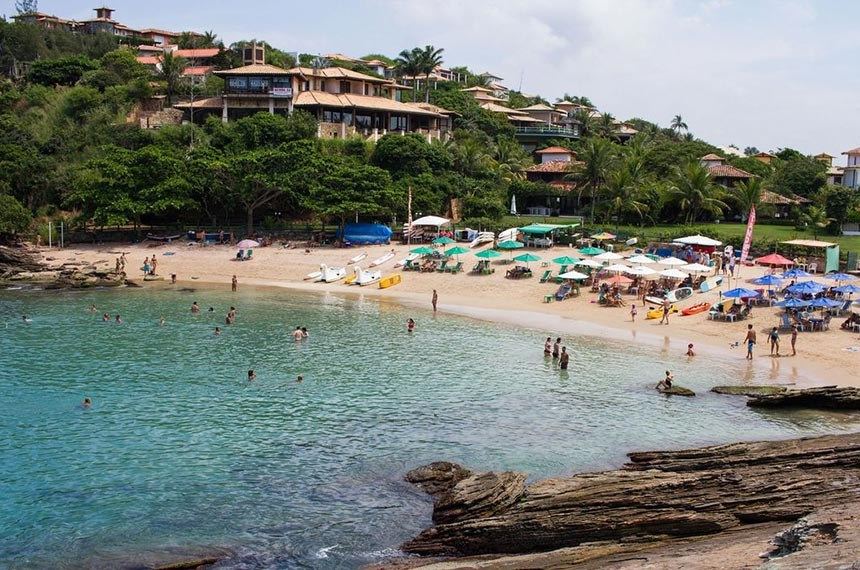 Praia da Ferradurinha, em Armação dos Búzios. Foto: Thiago Freitas.