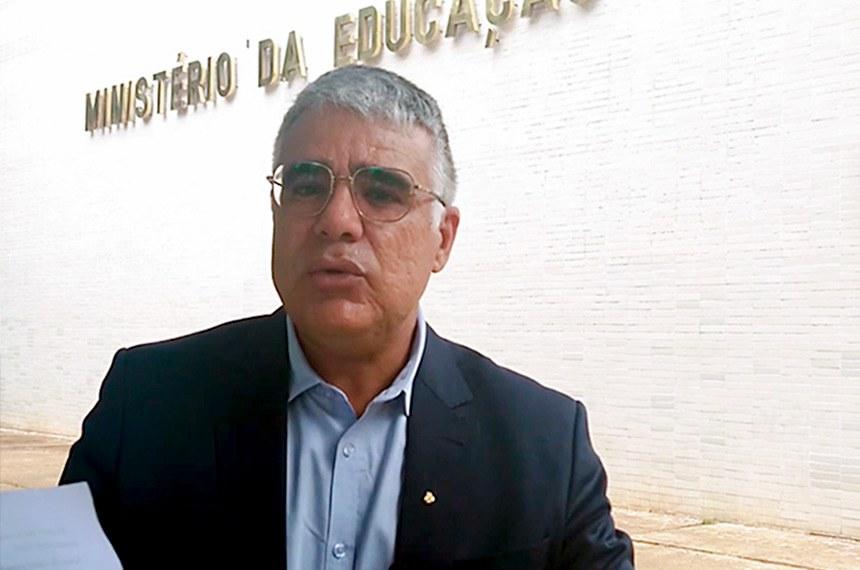 O senador também disse que fez um apelo nesse sentido ao governador do Ceará