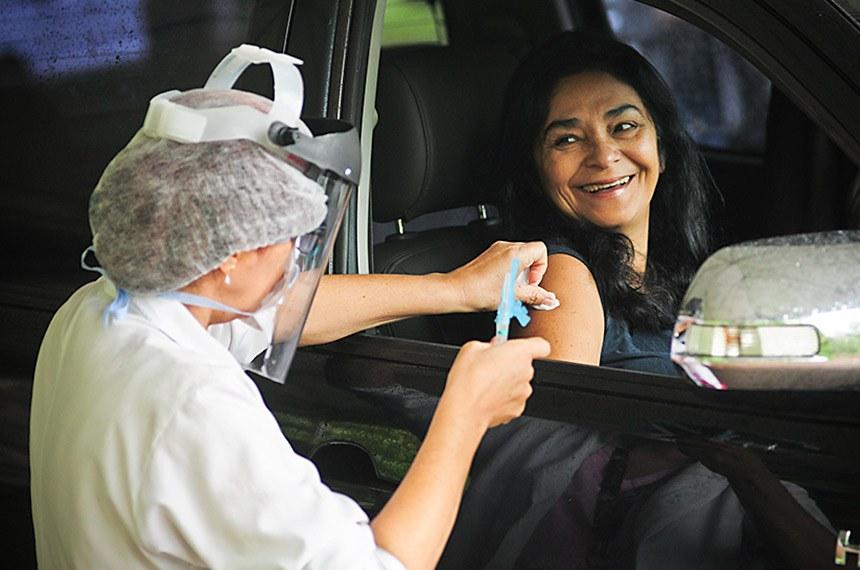 A pesquisa revela que 84% dos brasileiros querem se vacinar