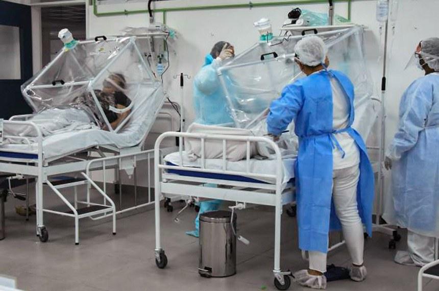 Covid-19  Hospital de Campanha em Manaus (Ingrid Anne/Fotos Públicas)