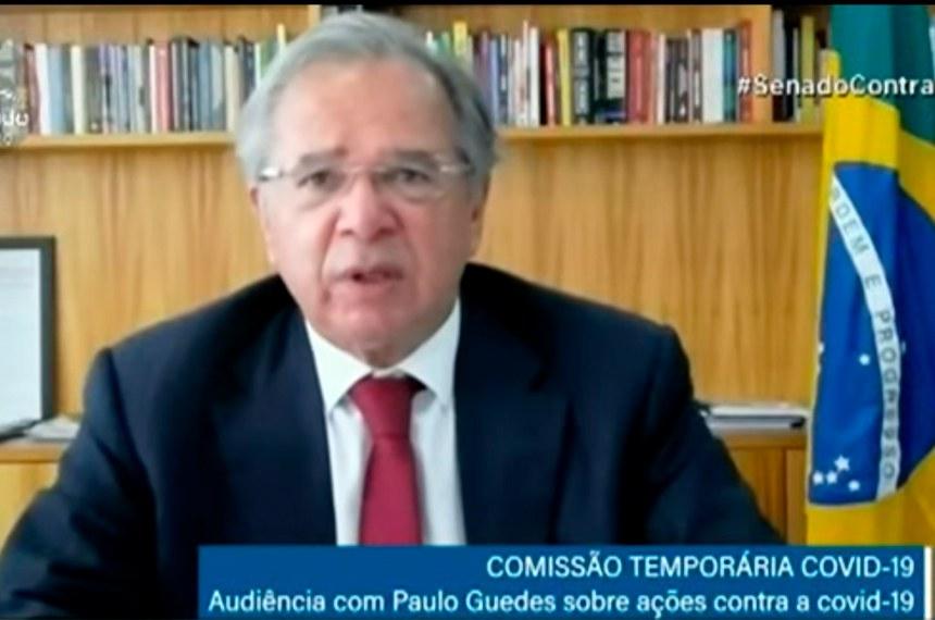 CTCOVID19 (Comissão Temporária da Covid-19): audiência com o ministro da Economia; Paulo Guedes; para debater Plano Nacional de Imunização e situação fiscal.