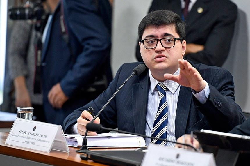 """Diretor-executivo da IFI, Felipe Salto, lamentou o episódio. Para ele, ministro Paulo Guedes demonstrou """"aversão ao contraditório"""