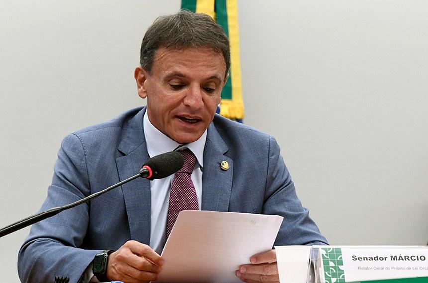 Comissão Mista de Planos, Orçamentos Públicos e Fiscalização (CMO) realiza reunião remota para analisar o Projeto de Lei do Congresso Nacional (PLN) 28/2020, que estabelece o Orçamento de 2021.  Participam à mesa: deputada Professora Dorinha Seabra Rezende (DEM-TO); relator-geral do Projeto de Lei Orçamentária (LOA), senador Marcio Bittar (MDB-AC);  presidente da CMO, deputada Flávia Arruda (PL-DF).  Foto: Edilson Rodrigues/Agência Senado
