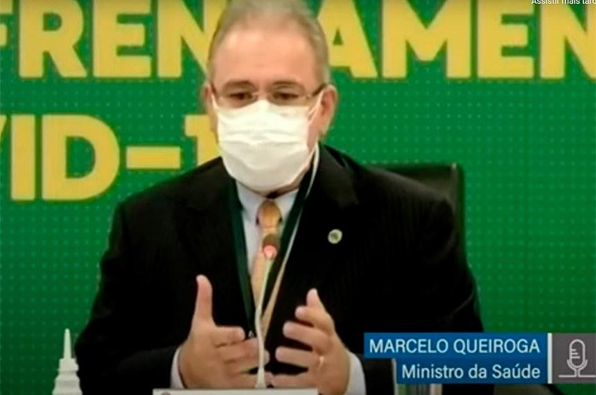 CTCOVID19: audiência com o ministro da Saúde, Marcelo Queiroga, para debater Plano Nacional de Imunização e medidas de combate à pandemia.  Reprodução/TvSenado