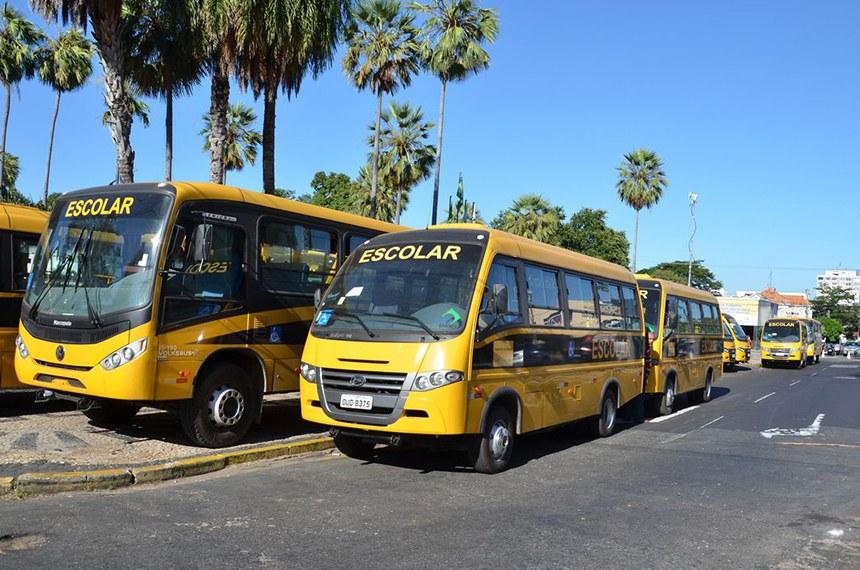 Está aberta a consulta pública para definir as especificações técnicas dos novos ônibus do programa Caminho da Escola. SEDUC  Piauí