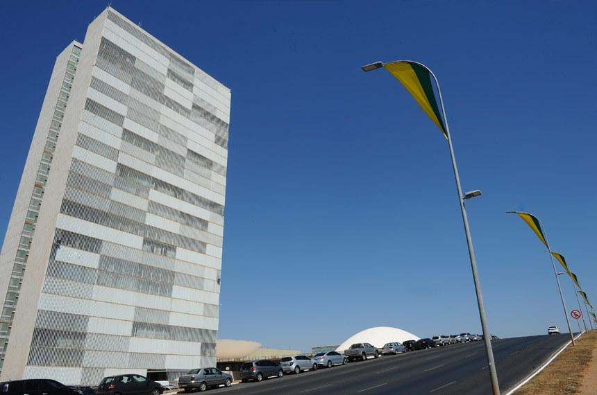 Fachada do Congresso Nacional.   Foto: Marcos Oliveira/Agência Senado