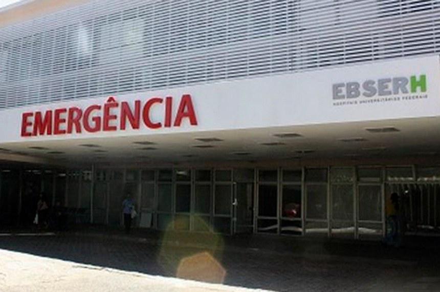 Hospital Universitário de Brasília (HUB), da UNB, gerenciado pela estatal Ebserh