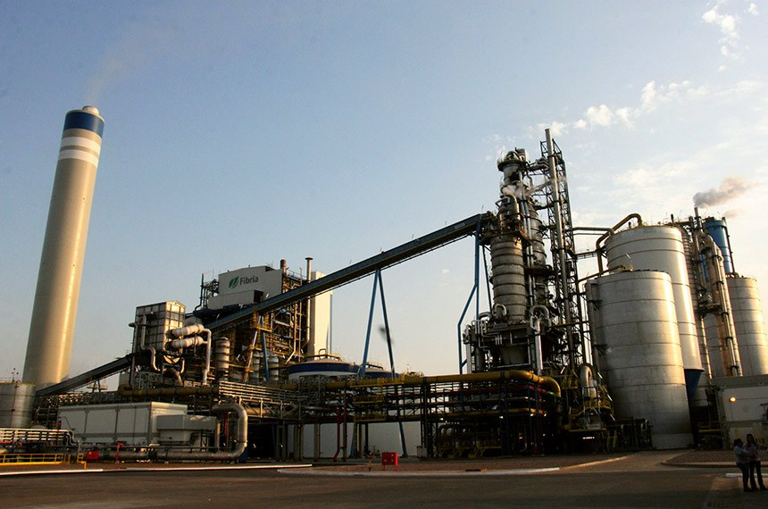 Visita a maior fábrica de celulose do mundo – Fibria Celulose, em Três Lagoas (MS)