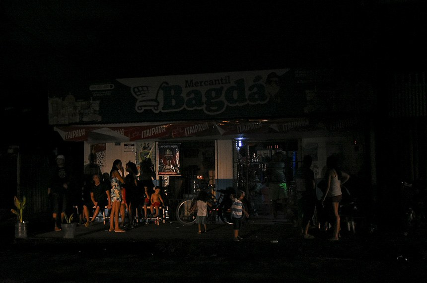 Crise de energia no Amapá, apagão em Macapá (Foto: Rudja Santos/Amazônia Real)