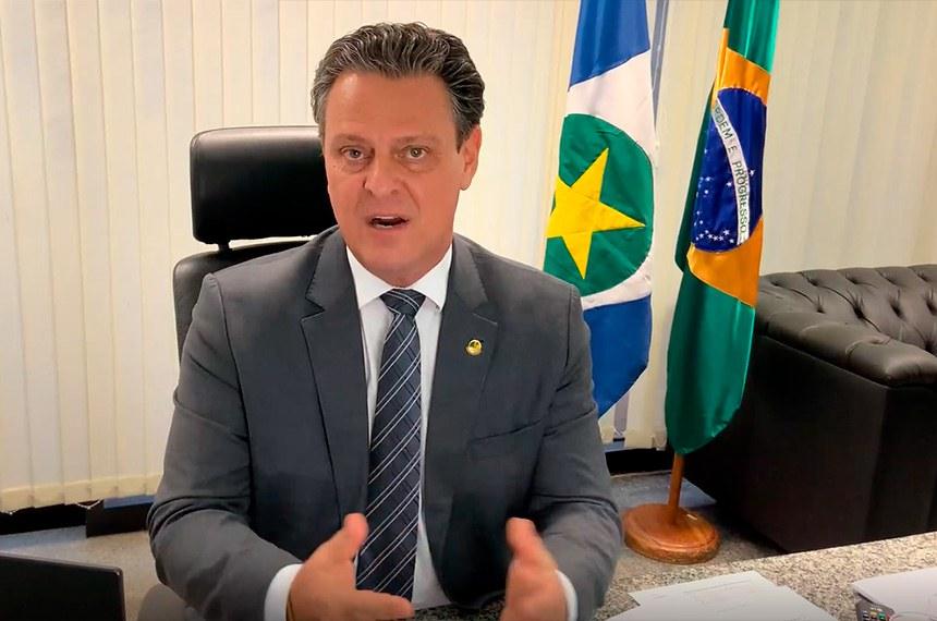 O senador é autor de projetos que preveem a criação de universidades em Mato Grosso