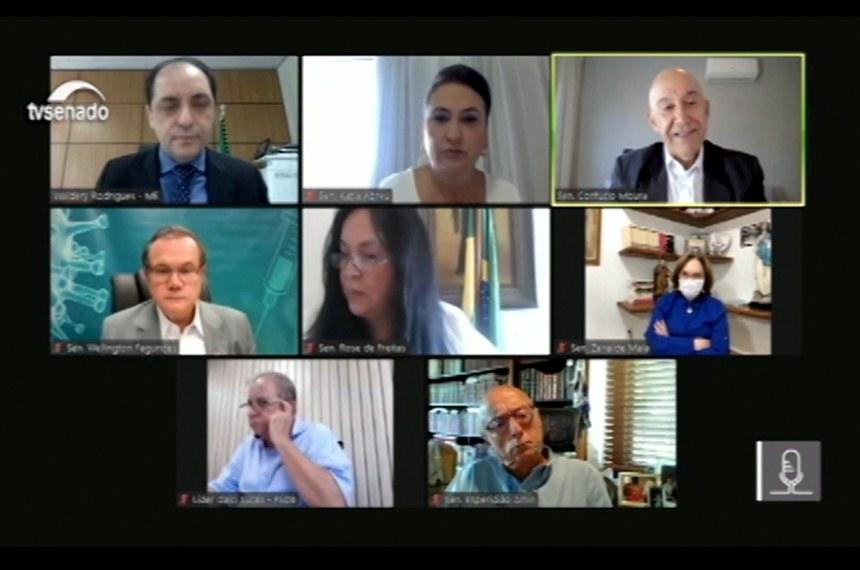 03.05.2021  CTCOVID19: audiência para debater Plano Nacional de Imunização com a participação do secretário especial de Fazenda, Waldery Rodrigues Junior.