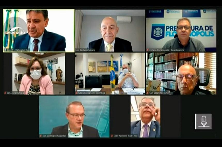 10.05.2021 CTCOVID19: audiência com governadores para debater compra descentralizada de vacinas.
