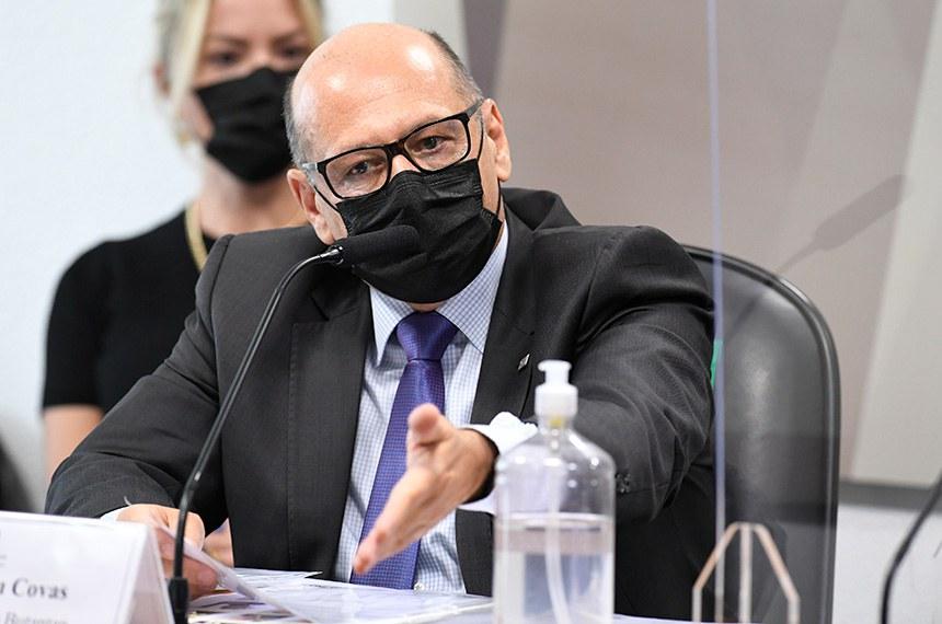 Dimas Covas relatou demora do governo na negociação da CoronaVac e falta de apoio ao Butantan