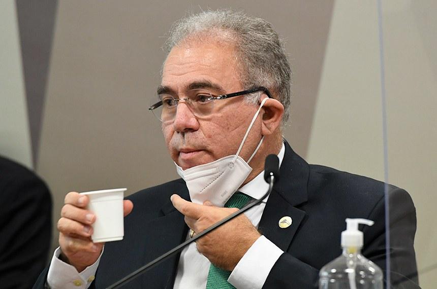 CPI ouve ministro Marcelo Queiroga pela segunda vez nesta terça — Senado  Notícias