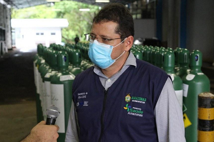 Marcellus Campelo era o secretário de Saúde durante o colapso no fornecimento de oxigênio aos pacientes de covid no Amazonas