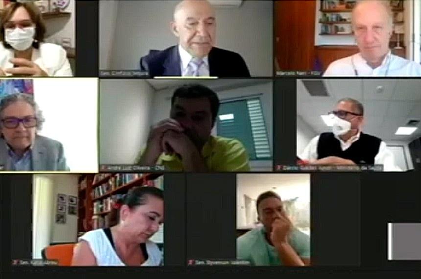 Comissão da Covid-19 discutiu com especialistas os caminhos do Brasil no pós-pandemia