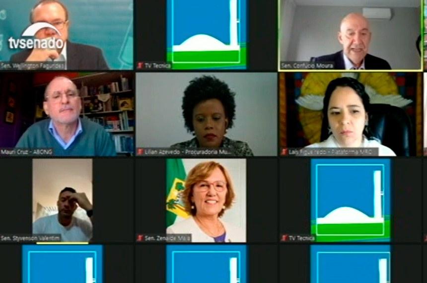 Debatedores convidados pela CTCOVID-19 defenderam mudanças, para o contexto da crise sanitária, no Marco Regulatório das Organizações da Sociedade Civil