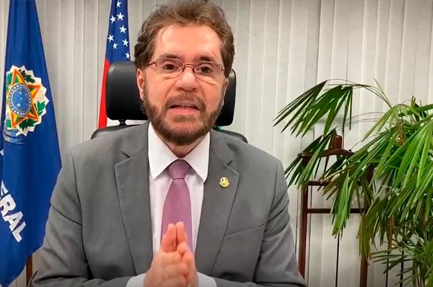 O senador defendeu o envio de integrantes da Força Nacional ao estado, após uma série de ataques criminosos nesse estado