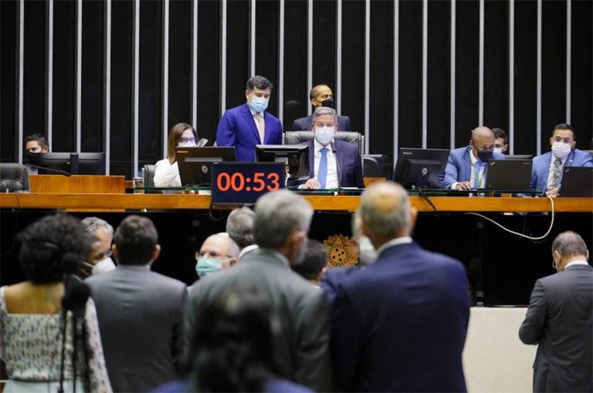 O Plenário da Câmara dos Deputados durante a votação desta segunda-feira; agora a medida provisória vai à sanção do presidente da República