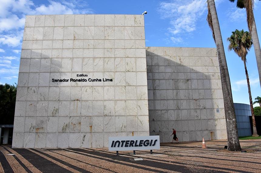 Fachada do Interlegis.  Foto: Pillar Pedreira/Agência Senado