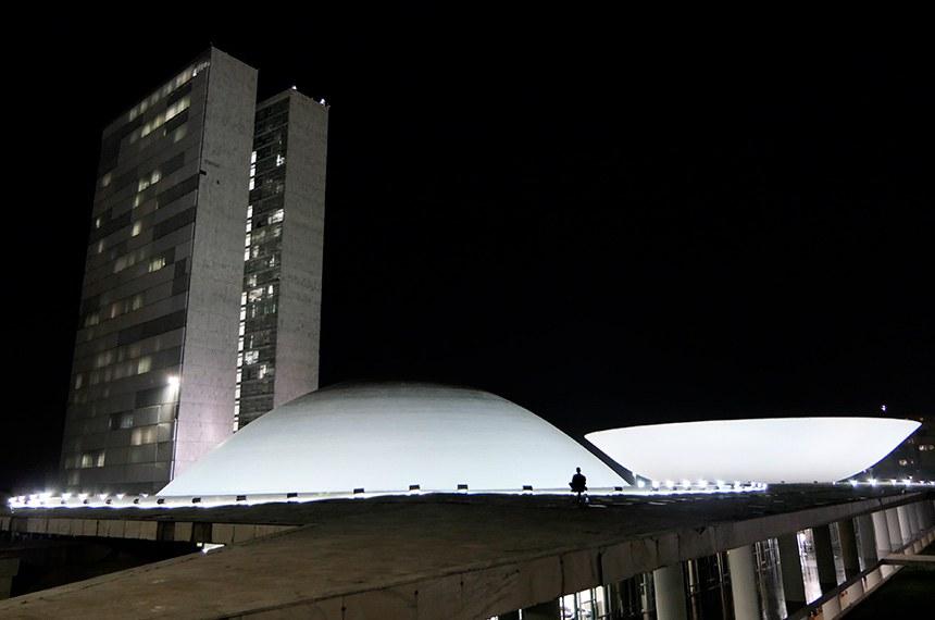 Fachada do Congresso Nacional.  Foto: Roque de Sá/Agência Senado