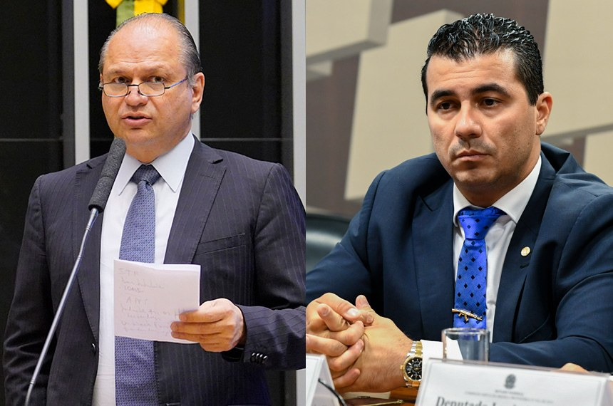 Os deputados federais Ricardo Barros e Luis Miranda