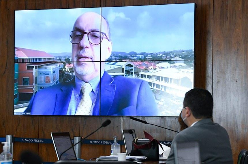 A aprovação da indicação para a Embaixada da ilha de Santa Lúcia, no Caribe, teve 41 votos favoráveis, 3 votos contrários e uma abstenção