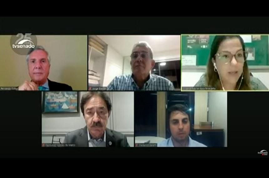 Reunião, que contou com representantes da administração federal, foi coordenada pelo senador Fernando Collor (Pros-AL), que presidente a Comissão de Desenvolvimento Regional