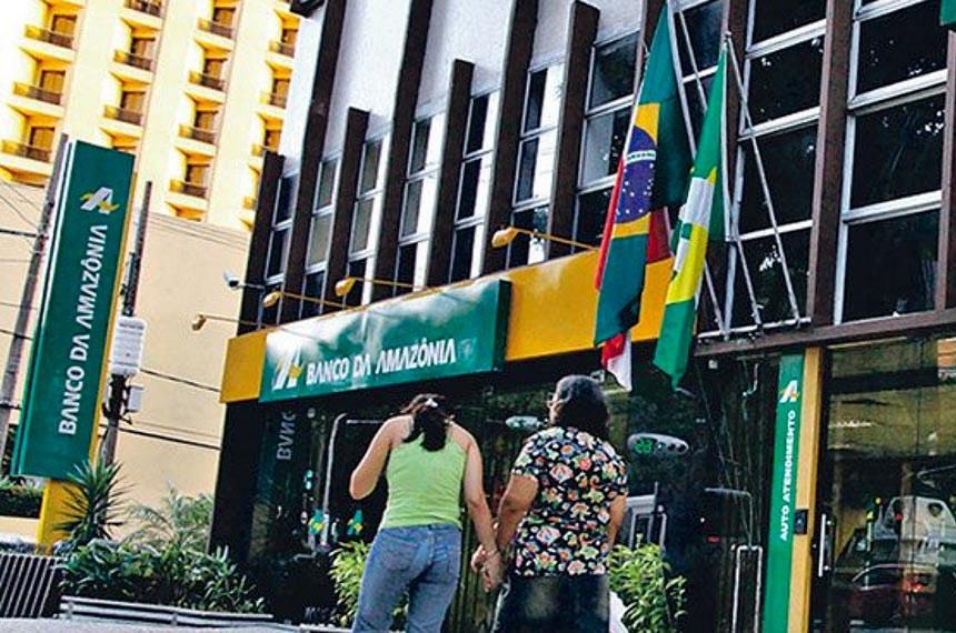 Banco da Amazonia  Foto: Reprodução/Bancários PA