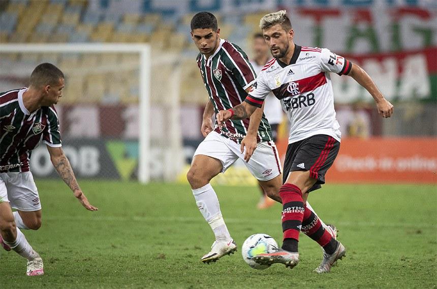 FLAMENGO X FLUMINENSE - CAMPEONATO BRASILEIRO - 09-09-2020  Alexandre Vidal / Flamengo