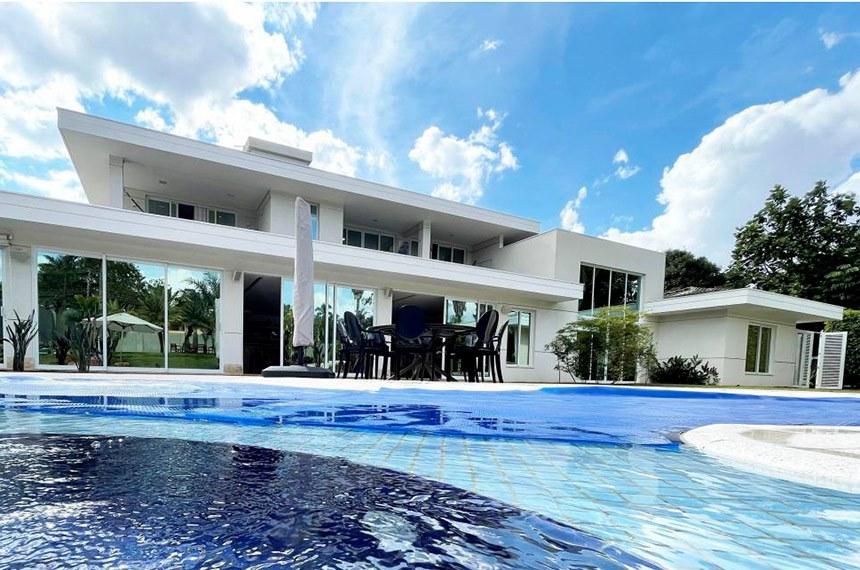 Casa de alto padrão no Setor de Mansões Dom Bosco, em Brasília