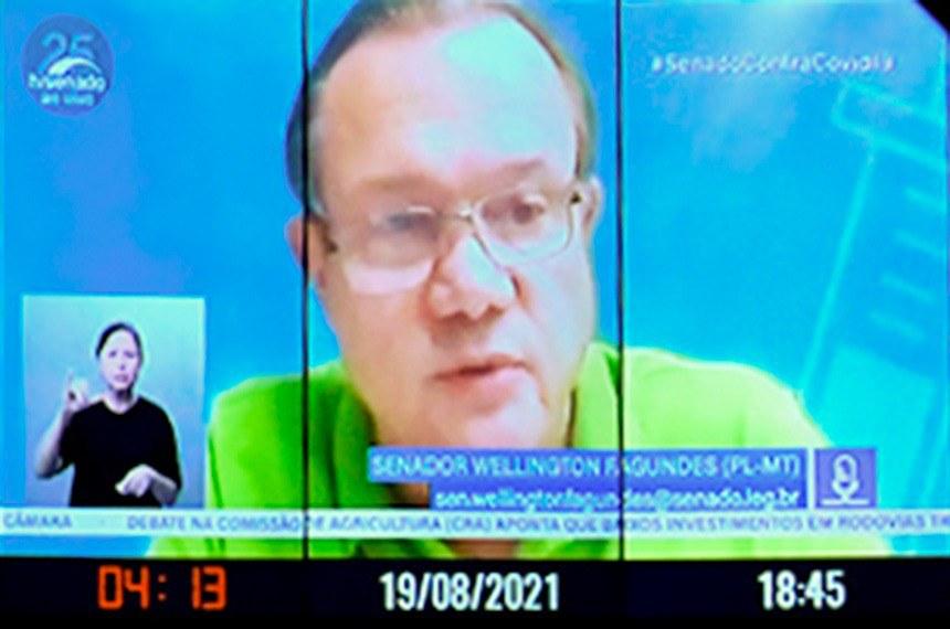 Senador Wellington Fagundes (PL-MT) lembrou que essas empresas geram mais de 70% dos empregos no Brasil
