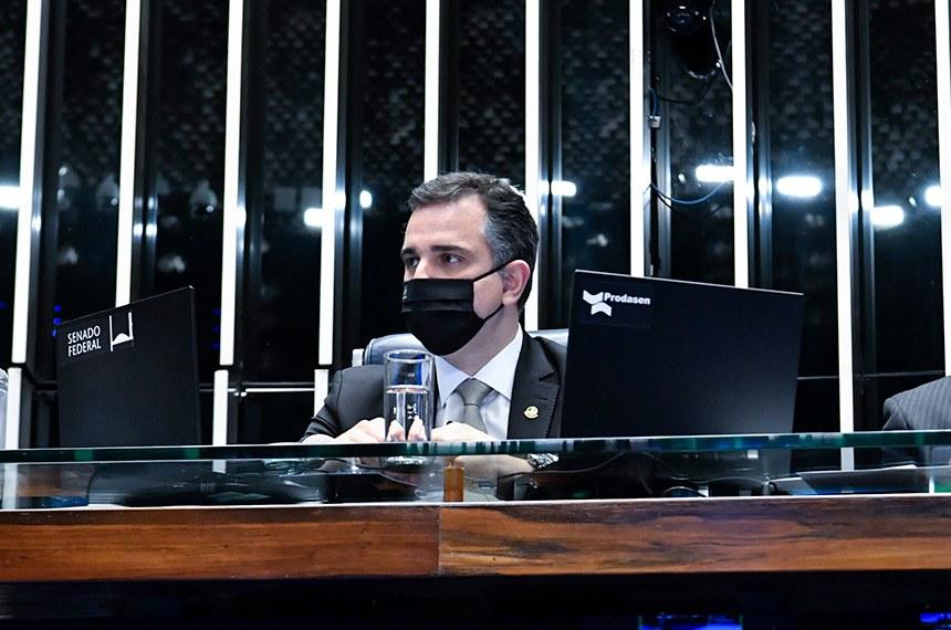 O presidente do Senado manifestou apoio à Proposta de Emenda à Constituição (PEC) 110/2019