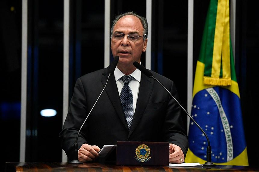 Líder do governo no Senado, Fernando Bezerra Coelho foi contra a revogação; ele argumentou que a resolução era importante para limitar impactos nas contas de estatais