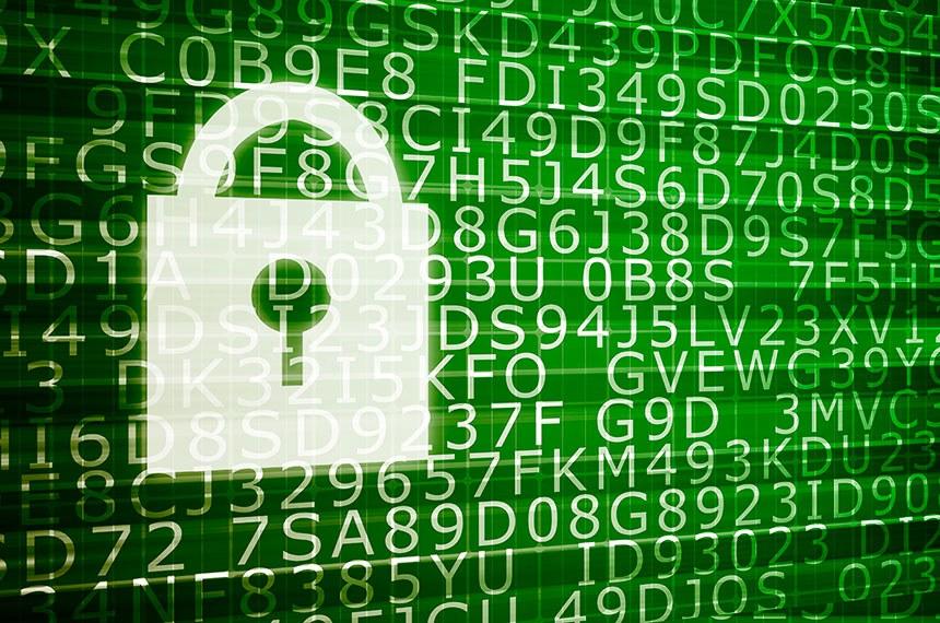 Ameaça à segurança Ilustracao para seguranca na web. Foto - Kheng Ho Toh / Stock Photos