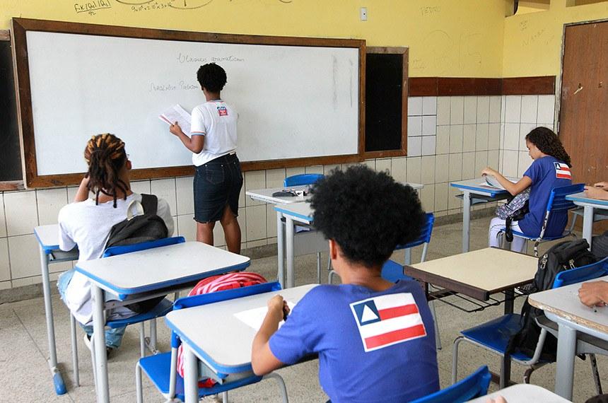 Mais Estudo Escolas da Rede Estadual de Ensino dão início às aulas de monitoria do Programa Mais Estudo.  Na foto: Jaíne Elen, estudante-monitora.  Foto: Camila Souza/GOVBA