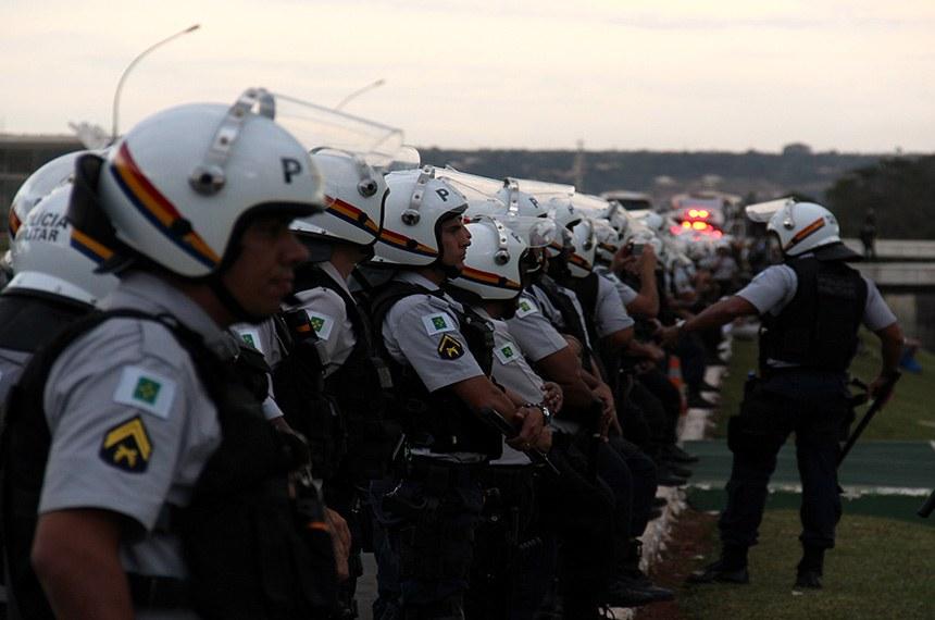 Policiais militares do Distrito Federal: categoria é uma das beneficiadas pela medida provisória
