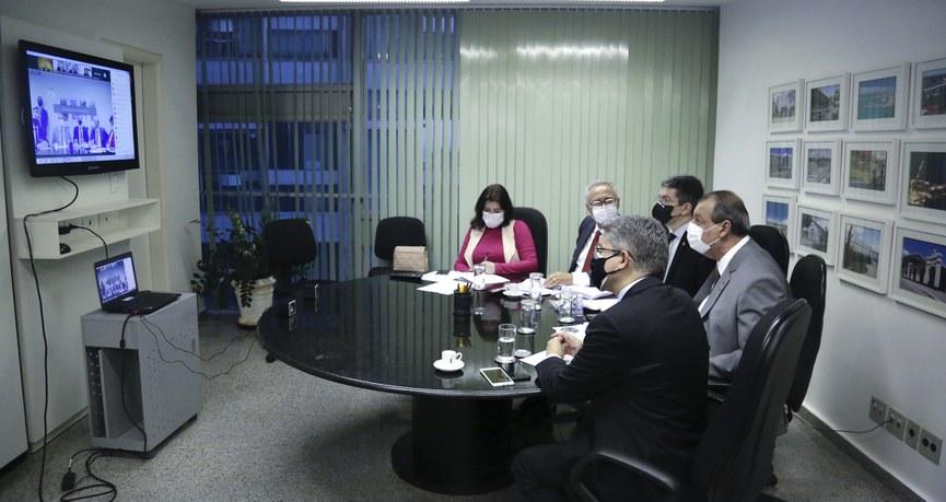 Integrantes da CPI da Pandemia ouvem, em teleconferência, parecer jurídico de Miguel Reale Junior para orientar o Relatório Final