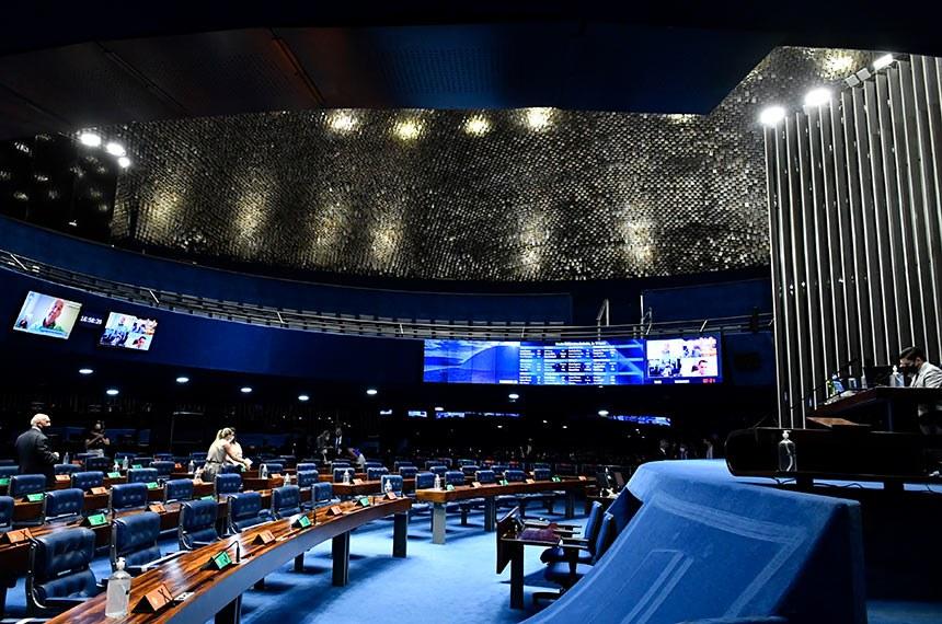 PEC foi retirada da Ordem do Dia pelo presidente do Senado, Rodrigo Pacheco (DEM-MG) devido ao quórum reduzido da sessão desta quinta-feira