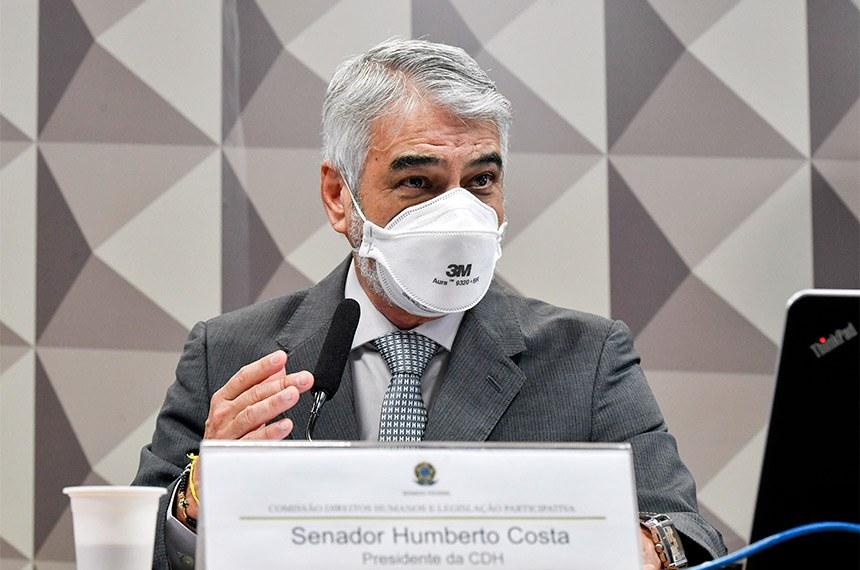 O requerimento para a realização da audiência pública foi feito do presidente da Comissão, senador Humberto Costa (PT-PE)