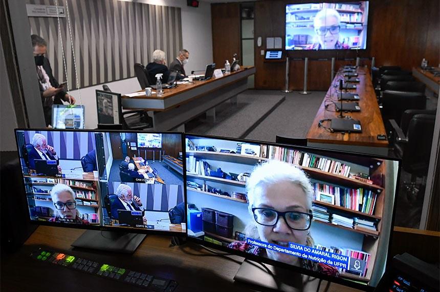 Debate sobre agrotóxicos foi feito por videoconferência; senadores ouviram a análise de especialistas, segundos os quais é preciso vontade política para diminuir a contaminação de alimentos e do meio ambiente