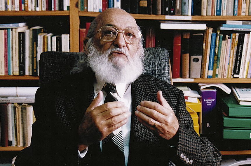 Patrono da educação brasileira, Paulo Freire faria 100 anos neste mês