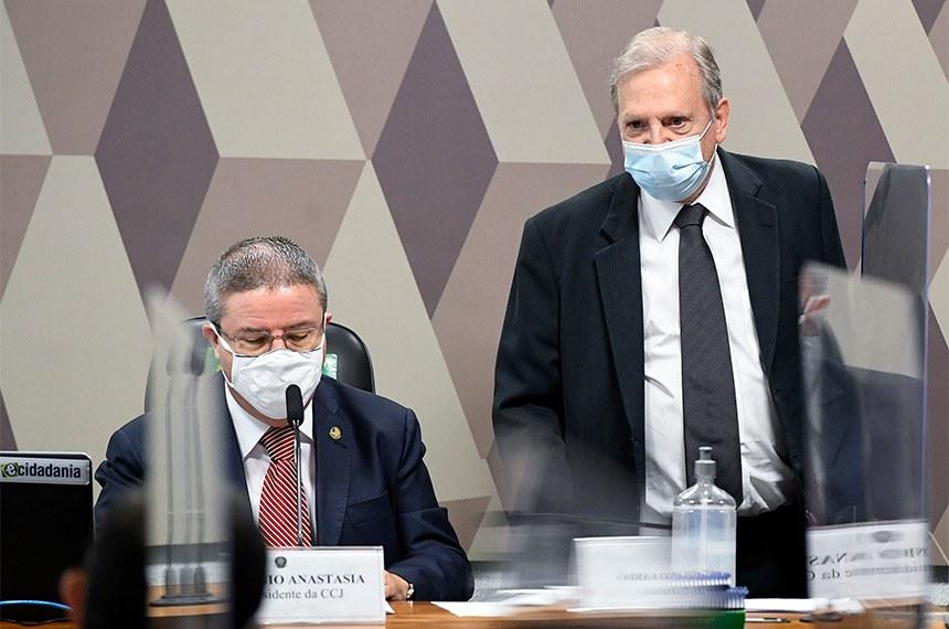 O senador Antônio Anastasia (PSDB-MG), relator do projeto, de autoria do senador Tasso Jereissati (PSDB-CE), requereu a Audiência Pública