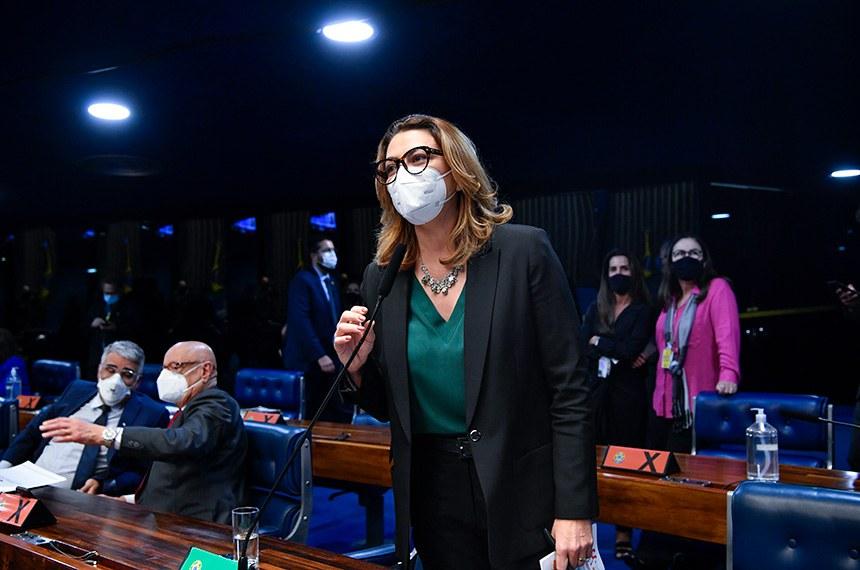 A PEC foi proposta pela senadora Leila Barros (Cidadania-DF)