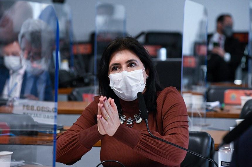 A relatora da PEC é a senadora Simone Tebet (MDB-MS)