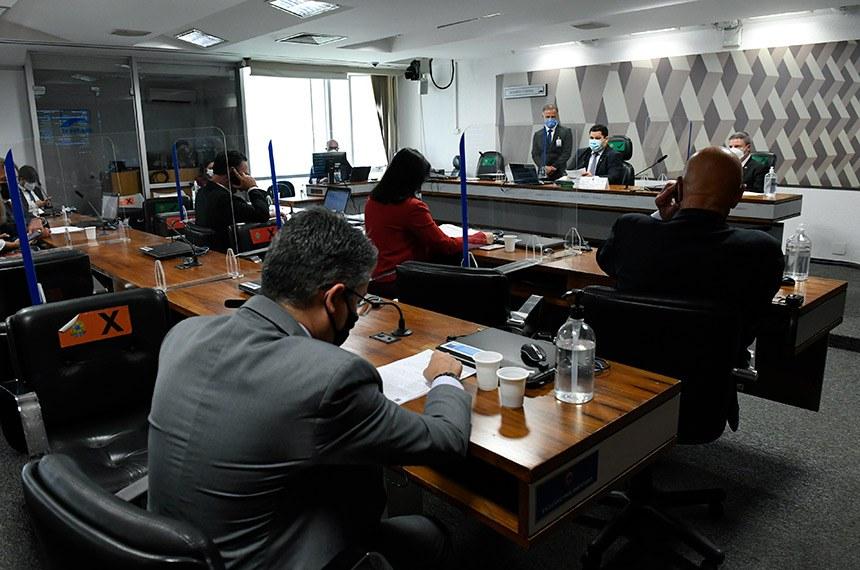 Nome de André Mendonça, indicado ao STF, aguarda deliberação da CCJ; Alessandro Vieira (Cidadania-SE) voltou a pedir ao presidente da comissão, Davi Alcolumbre (DEM-AP), a realização da sabatina